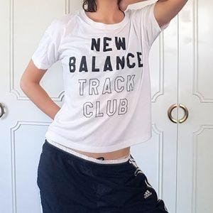 New Balance track club boxy tee